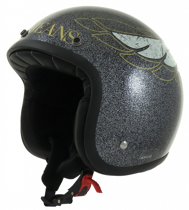 CASCO MOTO PROJECT IN FIBRA BLACK RACER ARMANI JEANS  PROJECT FOR SAFETY